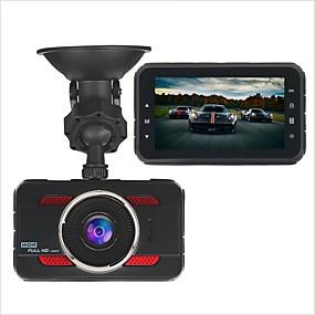 Недорогие Видеорегистраторы для авто-Y80 1080p HD Автомобильный видеорегистратор 170° Широкий угол 3 дюймовый Капюшон с G-Sensor / Режим парковки / Обноружение движения Нет Автомобильный рекордер / Циклическая запись / Фотография