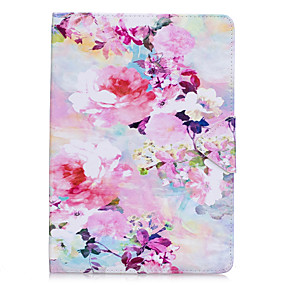 cheap Daily Deals-Case For Apple iPad Air / iPad 4/3/2 / iPad Mini 3/2/1 Flip Full Body Cases Flower Hard PU Leather / iPad Pro 10.5 / iPad (2017)