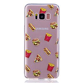 halpa Galaxy S -sarjan kotelot / kuoret-Etui Käyttötarkoitus Samsung Galaxy S8 Plus / S8 Läpinäkyvä / Kuvio Takakuori Ruoka Pehmeä TPU varten S8 Plus / S8 / S7 edge
