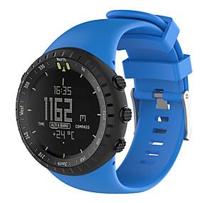 d0d31560c9f baratos Pulseiras para Suunto-Pulseiras de Relógio para SUUNTO CORE Suunto  Pulseira Esportiva Borracha Tira