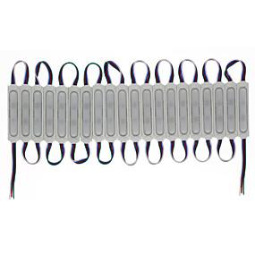 billige LED-moduler-hkv® led 3 led modul 12v vandtæt rgb farve udskiftelige led moduler belysning vandtæt lys reklame lampe