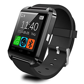 cheap Daily Deals-U8 Smartwatch Watch  Bluetooth Answer and Dial the Phone Passometer Burglar Alarm Funcitons