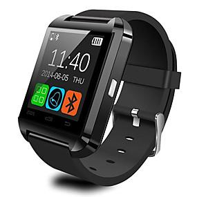 billige Daglige tilbud-u8 smartwatch se bluetooth svar og ring telefon passometer innbruddsalarm funcitons