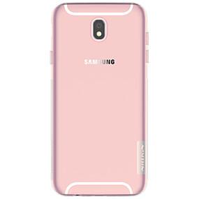 voordelige Galaxy J3(2017) Hoesjes / covers-Nillkin hoesje Voor Samsung Galaxy J7 (2017) / J3 (2017) Ultradun / Transparant Achterkant Effen Zacht TPU voor J7 (2017) / J5 (2017) / J3 (2017)