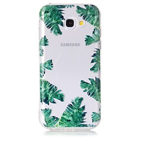 voordelige Galaxy A5(2016) Hoesjes / covers-hoesje Voor Samsung Galaxy A3 (2017) / A5 (2017) / A5(2016) Transparant / Patroon Achterkant Boom Zacht TPU