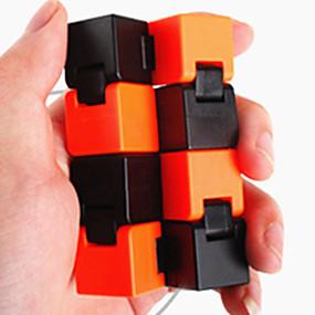 olcso Játékok & hobbi-Végtelen kockák Fidget Toys Rubik-kocka Tudományos játékok Stresszoldó Fejlesztő játék Játékok Négyzet Újdonság 3D Műanyag Darabok
