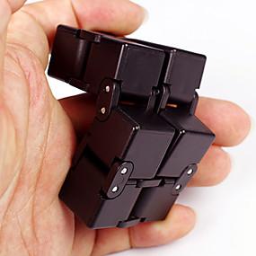 billige Pedagogiske leker-Evighetskube Fidgetleker Magiske kuber Stresslindrende leker Nyhet Plast 1pcs Deler Gutt Barne Voksne Gave