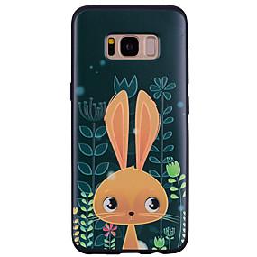 voordelige Galaxy S7 Hoesjes / covers-hoesje Voor Samsung Galaxy S8 Plus / S8 / S7 edge Patroon Achterkant dier / Cartoon Zacht Siliconen