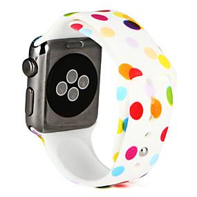 economico Svendita-Cinturino per orologio  per Apple Watch Series 4/3/2/1 Apple Cinturino sportivo Silicone Custodia con cinturino a strappo