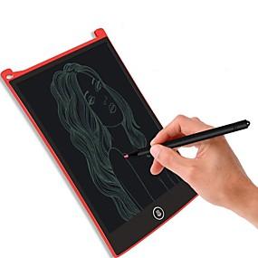 abordables Tabletas Gráficas-8.5 pulgadas digital lcd escritura tableta cepillos de alta definición tarjeta de escritura a mano portátil sin radiatio