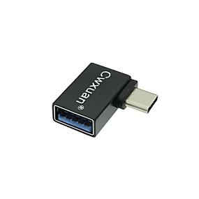 Недорогие Аксессуары для ПК и планшетов-Cwxuan USB 3.1 Type C к USB 3.0 Male - Female