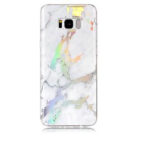 preiswerte Galaxy S Serie Hüllen / Cover-Hülle Für Samsung Galaxy S8 Plus / S8 IMD / Muster Rückseite Marmor Weich TPU für S8 Plus / S8 / S7 edge