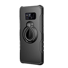levne Galaxy S pouzdra / obaly-Carcasă Pro Samsung Galaxy S8 Plus / S8 Nárazuvzdorné / Držák na prsteny Zadní kryt Jednobarevné Pevné PC pro S8 Plus / S8 / S7 edge