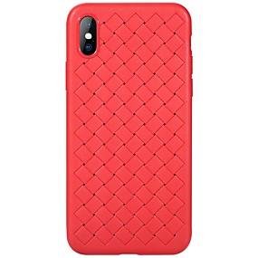 abordables Coques d'iPhone-Benks Coque Pour Apple / iPhone X iPhone X Ultrafine Coque Couleur Pleine Flexible TPU pour iPhone X