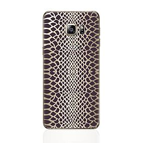 olcso Galaxy S tokok-Case Kompatibilitás Samsung Galaxy S8 Plus / S8 Minta Fekete tok Leopárd minta Puha TPU mert S8 Plus / S8 / S7 edge