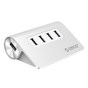 cheap Computer Peripherals-ORICO 4 USB Hub USB 3.0 USB 2.0 USB 3.0 Input Protection Over Range Protection Data Hub