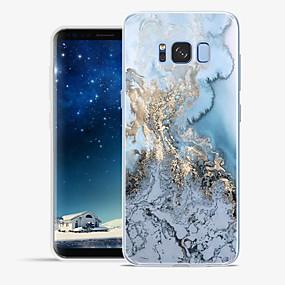 voordelige Galaxy S6 Edge Plus Hoesjes / covers-hoesje Voor Samsung Galaxy S8 Plus / S8 / S7 edge Patroon Achterkant Lijnen / golven / Marmer Zacht TPU