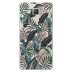voordelige Galaxy A7(2016) Hoesjes / covers-hoesje Voor Samsung Galaxy A3 (2017) / A5 (2017) / A7 (2017) Patroon Achterkant Landschap Zacht TPU