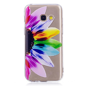 voordelige Galaxy A5(2016) Hoesjes / covers-hoesje Voor Samsung Galaxy A3 (2017) / A5 (2017) / A5(2016) IMD / Patroon Achterkant Mandala / Transparant Zacht TPU