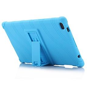tanie Akcesoria do tabletów-wzór fali wzór żel silikonowy obudowa etui na skóry z uchwytem do lenovo tab 4 8 (tb-8504) 8.0 cal tablet pc