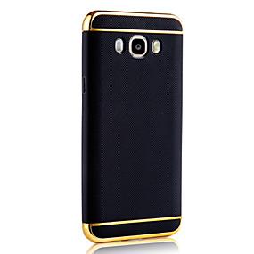 voordelige Galaxy J7 Hoesjes / covers-hoesje Voor Samsung Galaxy J7 Prime / J7 (2016) / J7 Beplating Achterkant Effen Zacht TPU