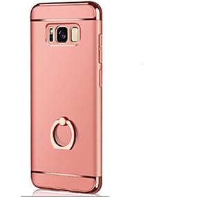 voordelige Galaxy S7 Edge Hoesjes / covers-hoesje Voor Samsung Galaxy S8 Plus / S8 / S7 edge Ringhouder / Ultradun / Origami Achterkant Effen Hard PC