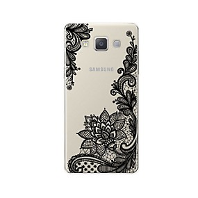 voordelige Galaxy A8 Hoesjes / covers-hoesje Voor Samsung Galaxy A3 (2017) / A5 (2017) / A7 (2017) Patroon Achterkant Lace Printing Zacht TPU