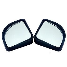 voordelige Rear View Monitor-2 stks / partij auto-accessoires kleine ronde spiegel auto achteruitkijkspiegel dodehoek groothoek lens 360 graden rotatie verstelbare