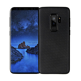 economico Custodie / cover per Galaxy serie S-Custodia Per Samsung Galaxy S9 Plus / S9 Ultra sottile Per retro Tinta unita Morbido TPU per S9 / S9 Plus / S8 Plus