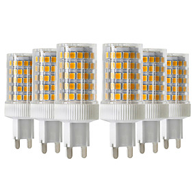 abordables Luces LED de Doble Pin-ywxlight® 6pcs 10w 900-1000lm g9 llevó luces bi-pin 86led 2835smd cerámica de alta calidad regulable bombilla led ac 220-240v