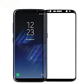 halpa Samsung suojakalvot-Näytönsuojat varten Samsung Galaxy S9 Karkaistu lasi 1 kpl Koko laitteen suoja 9H kovuus / Räjähdyksenkestävät / Naarmunkestävä
