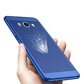 voordelige Galaxy J5 Hoesjes / covers-hoesje Voor Samsung Galaxy J7 (2017) / J7 (2016) / J7 Ultradun Achterkant Effen Hard Muovi