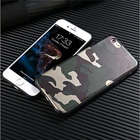저렴한 아이폰 케이스-케이스 제품 Apple iPhone 8 / iPhone 8 Plus 반투명 뒷면 커버 솔리드 / 캐모플라지 색상 소프트 TPU 용 iPhone X / iPhone 8 Plus / iPhone 8