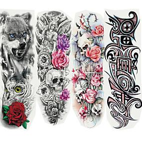 ieftine Tatuaje Temporare-4 pcs Acțibilde de Tatuaj Tatuaje temporare Cartoon Series Arta corpului braț