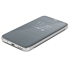 Χαμηλού Κόστους LG-tok Για LG G6 Καθρέφτης / Ανοιγόμενη / Εξαιρετικά λεπτή Πλήρης Θήκη Μονόχρωμο Σκληρή PU δέρμα για LG G6