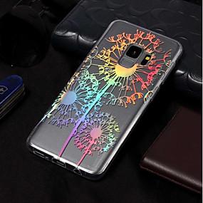 levne Galaxy S pouzdra / obaly-Carcasă Pro Samsung Galaxy S9 Plus / S9 Galvanizované / Vzor Zadní kryt Pampeliška Měkké TPU pro S9 / S9 Plus / S8 Plus