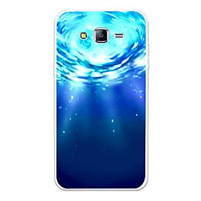 voordelige Galaxy J7(2017) Hoesjes / covers-hoesje Voor Samsung Galaxy J7 (2017) / J7 (2016) / J7 Patroon Achterkant Landschap / Cartoon Zacht TPU