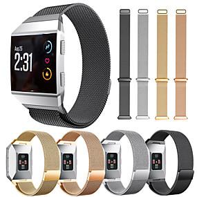 저렴한 Fitbit 밴드 시계-시계 밴드 용 Fitbit ionic 핏빗 밀라노 루프 스테인레스 스틸 손목 스트랩