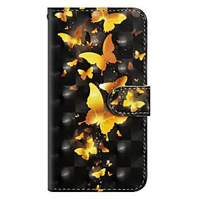 economico Sony-Custodia Per Sony Xperia XA2 Ultra / Xperia XA1 Ultra A portafoglio / Porta-carte di credito / Con supporto Integrale Farfalla Resistente pelle sintetica per Xperia XZ2 / Xperia XZ2 Compact / Xperia