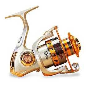 economico Accessori per pesca-Mulinelli da pesca Mulinelli per spinning 5.5/1 Rapporto di trasmissione+12 Cuscinetti a sfera Mano Orientamento Intercambiabile Pesca di mare / Pesca di carpe