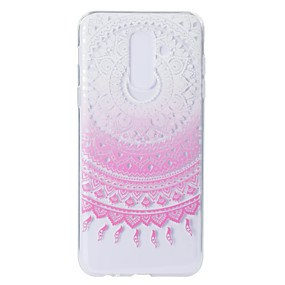 voordelige Galaxy A5(2016) Hoesjes / covers-hoesje Voor Samsung Galaxy A5(2018) / A6 (2018) / A6+ (2018) Patroon Achterkant Lace Printing Zacht TPU