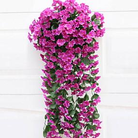 preiswerte Künstliche Blumen-Künstliche Blumen 1 Ast Klassisch Moderne zeitgenössische Simple Style Ewige Blumen Wand-Blumen