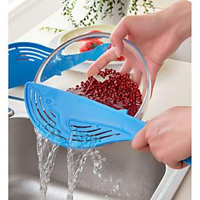billige Hjem & Køkken-hvalpotte silen risfrugt grøntsag vask kolander køkken gadgets