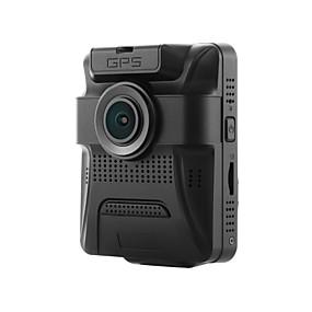 voordelige Auto DVR's-GS65H 480p / 720p / 960p HD / Nacht Zicht Auto DVR 150 graden / 130 graad Wijde hoek 12 MP 2.4 inch(es) LCD Dash Cam met GPS / Nacht Zicht / G-Sensor Neen Autorecorder / 1080p / Continu-opname