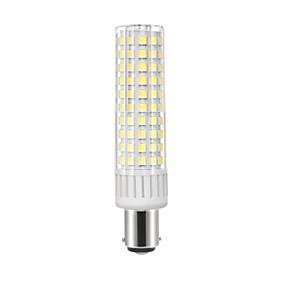 billige LED-kornpærer-1pc 8.5 W LED-kornpærer 1105 lm BA15d T 125 LED perler SMD 2835 Mulighet for demping Varm hvit Kjølig hvit 220 V 110 V