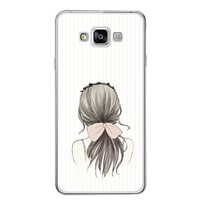 voordelige Galaxy A7(2016) Hoesjes / covers-hoesje Voor Samsung Galaxy A3 (2017) / A5 (2017) / A7 (2017) Patroon Achterkant Sexy dame Zacht TPU