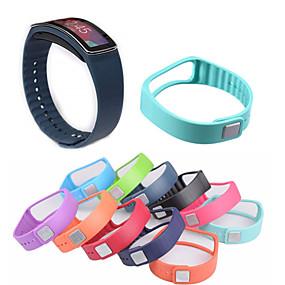 billige Klokkeremmer til Samsung-Klokkerem til Gear Fit Samsung Galaxy Sportsrem Keramikk / Silikon Håndleddsrem