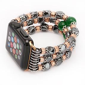 abordables Bracelets Apple Watch-Bracelet de Montre  pour Apple Watch Series 4/3/2/1 Apple Design de bijoux Céramique Sangle de Poignet