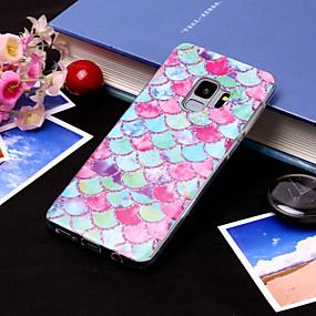 voordelige Galaxy S7 Hoesjes / covers-hoesje Voor Samsung Galaxy S9 / S9 Plus / S8 Plus IMD / Patroon Achterkant Kleurgradatie Zacht TPU