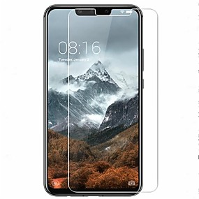 voordelige Huawei Mate 20 Lite-Screenprotector voor Huawei Huawei Mate 20 lite / Huawei Mate 20 pro / Huawei Mate 20 Gehard Glas 1 stuks Voorkant screenprotector High-Definition (HD) / 9H-hardheid / 2.5D gebogen rand